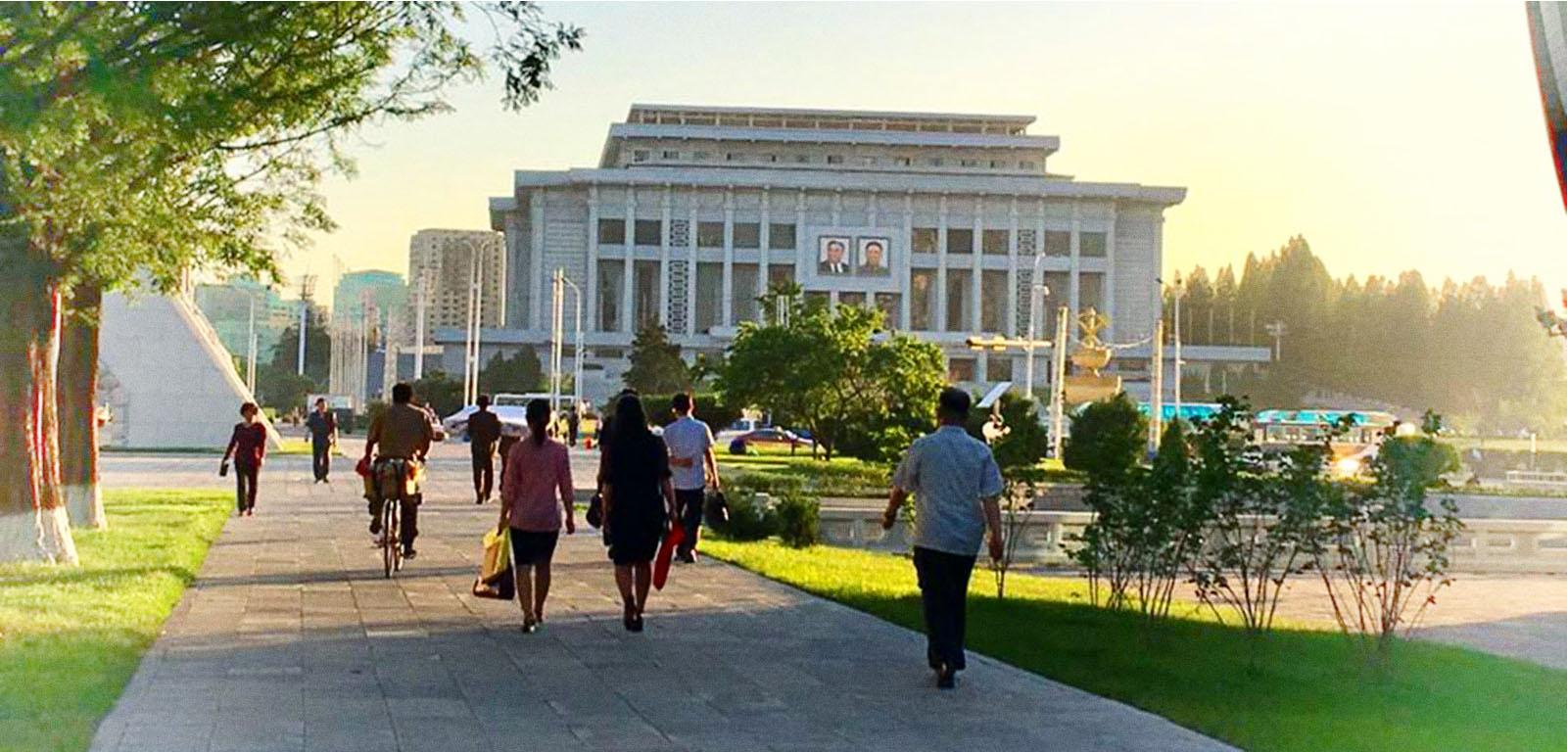 North Korea - peace amidst the chaos