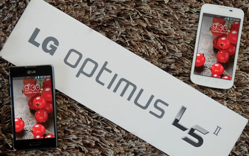 lg optimus l5ii begins global rollout
