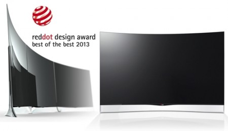 lg recognized with red dot and if design award