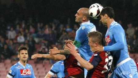 napoli restore nine point gap as atalanta stun inter
