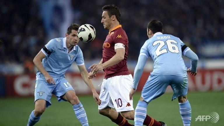 lazio roma draw in rome derby