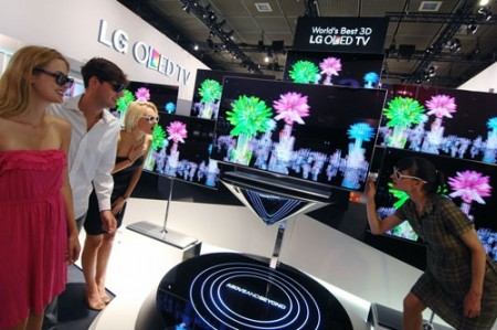 lg to present full line up of leading home entertainment products at ifa 2012 featuring worlds largest and slimmest oled tv