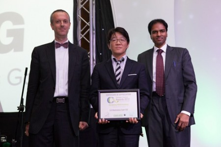 lg honored with best project award for superior energy solutions