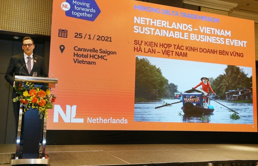 netherlands and vietnam promotes sustainable business for mekong delta