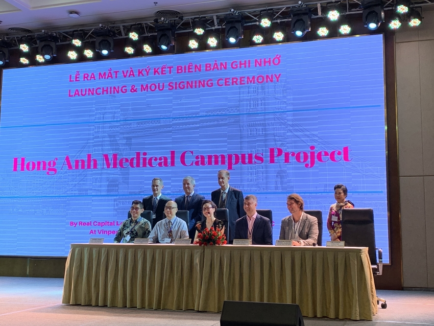 156 million medical campus set up in ho chi minh city