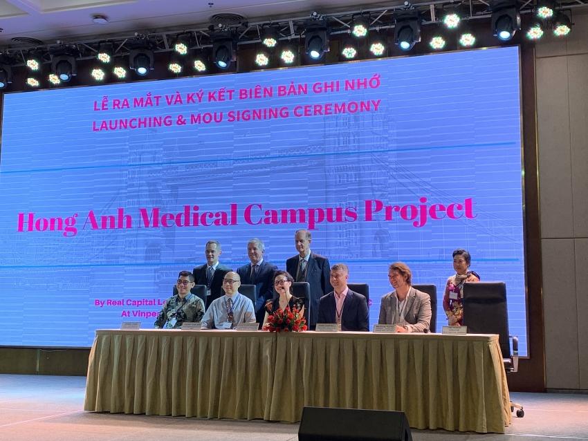 156 million medical campus set up in ho chi minh city