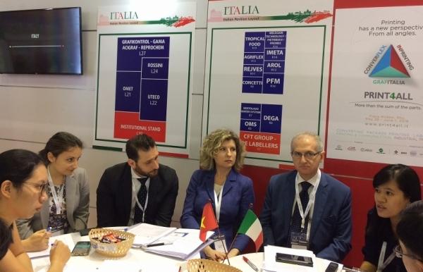 world leading italian companies make entrance at propak vietnam