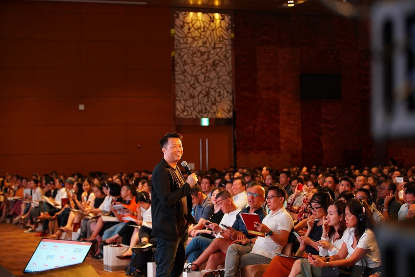 capitaland vietnam hosted feng shui talk by dato joey yap