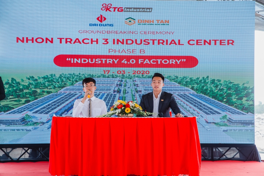 ktg starts construction of ready built factory in nhon trach 3b industrial centre