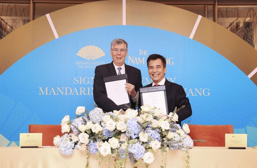 mandarin oriental hotel group manages new luxury in danang