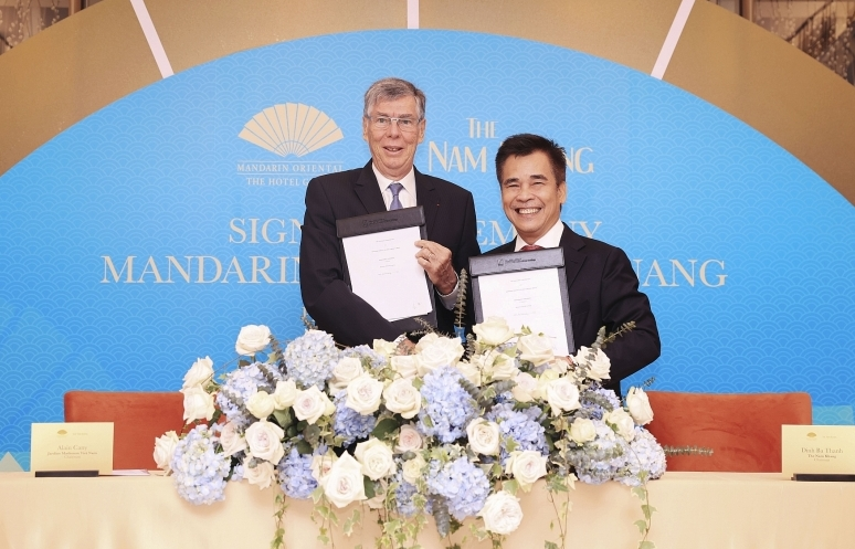 mandarin oriental hotel group manages new luxury in danang