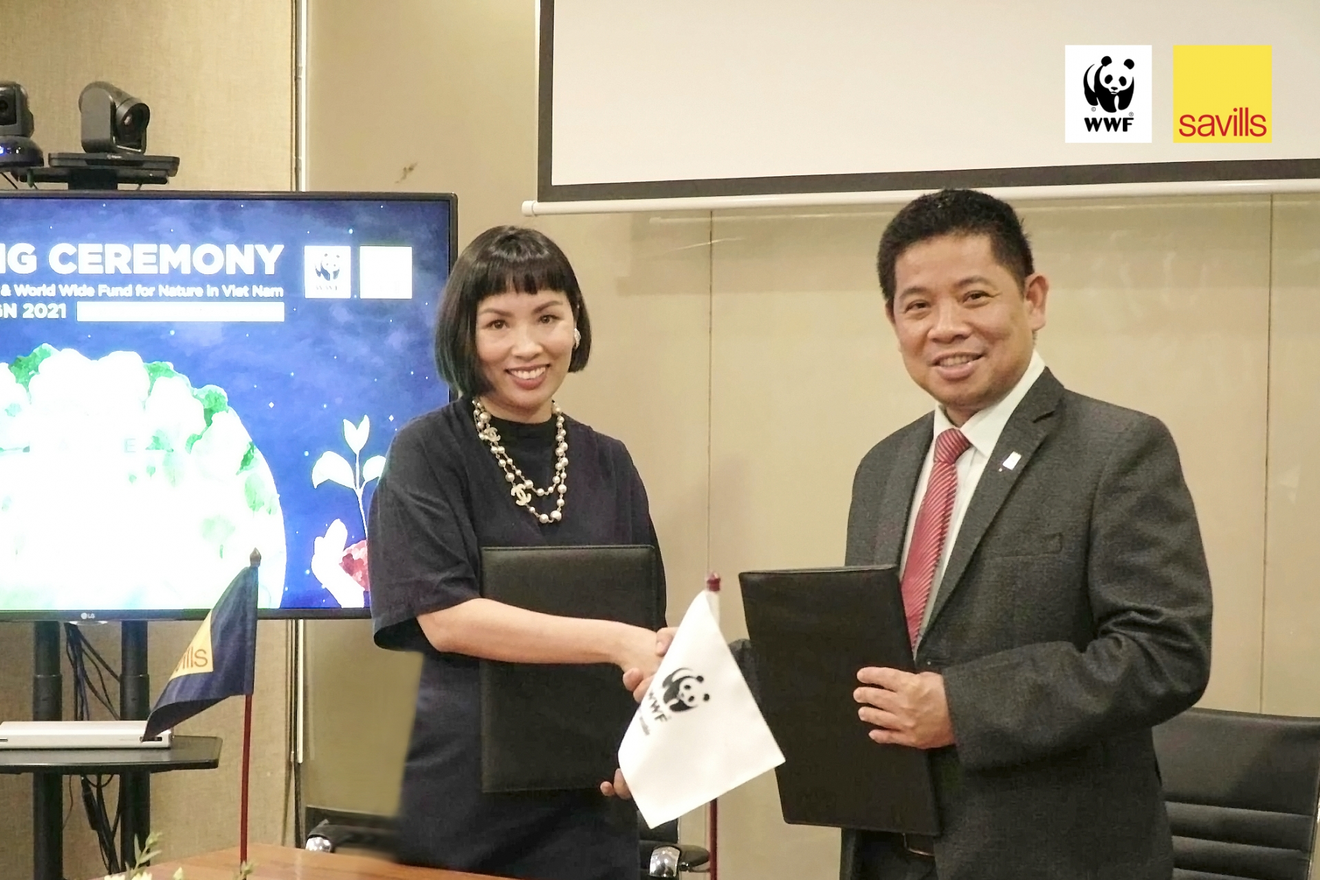savills vietnam to partner with world wildlife fund for earth hour 2021
