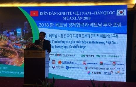 korean enterprising looking for the shortest way to vietnam