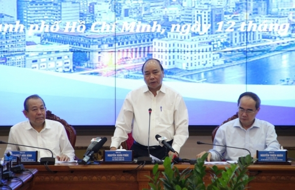 prime minister breaks through ho chi minh city stagnancy