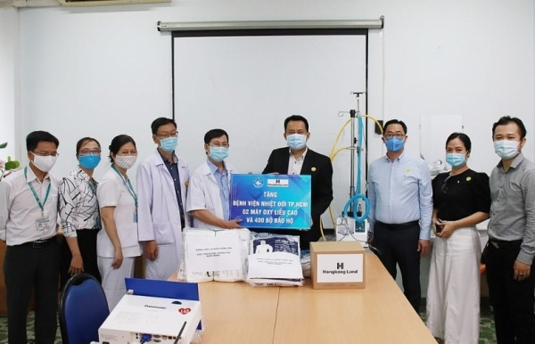 hongkong land donates ventilators and protective clothing to combat covid 19