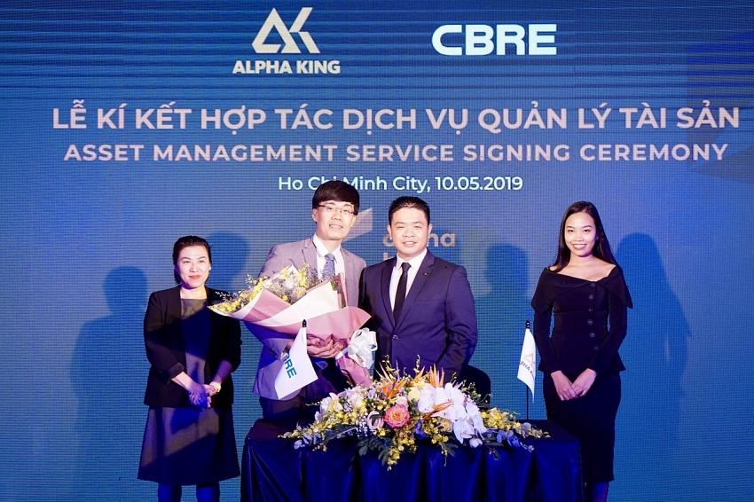 cbre vietnam provides one stop asset management service exclusive for alpha hill tower