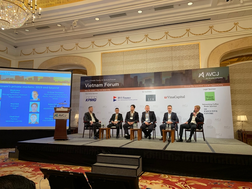 private equity and venture forum attracts investment into vietnam