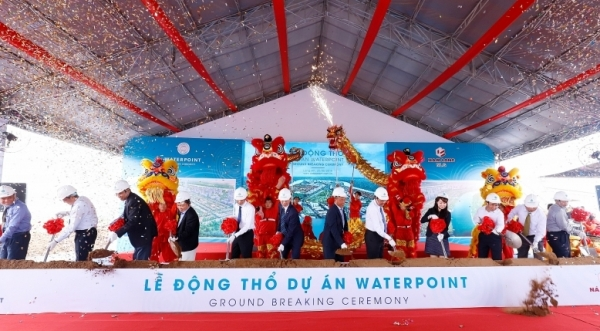 nam long kicks off waterpoint township in long an province