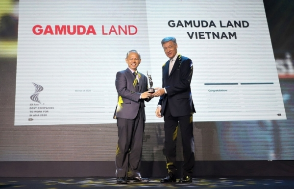 gamuda land vietnam makes it into best companies to work for in asia 2020