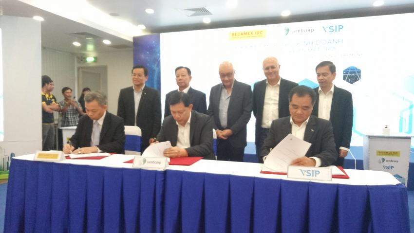 1000 factories at vsip to switch to solar energy