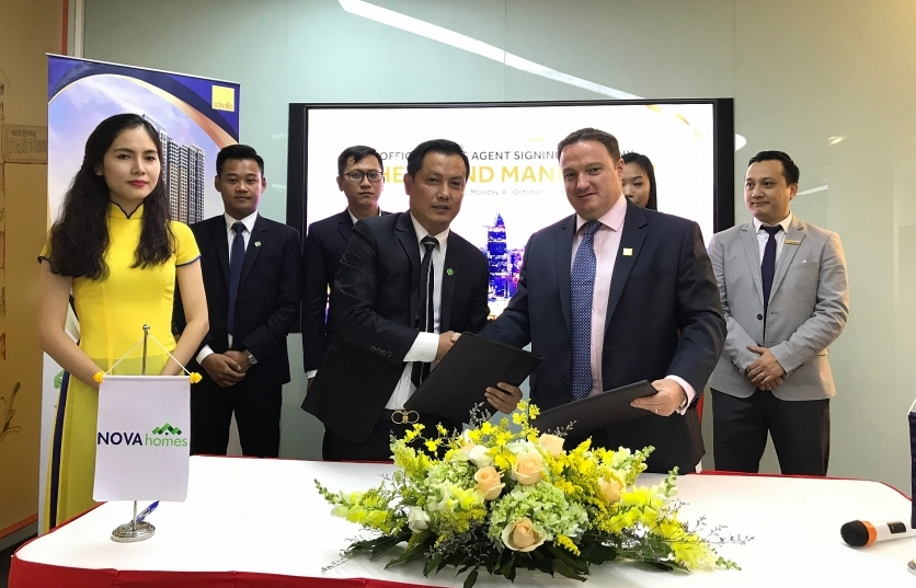 novaland appoints savills vietnam for official sale agency of grand manhattan