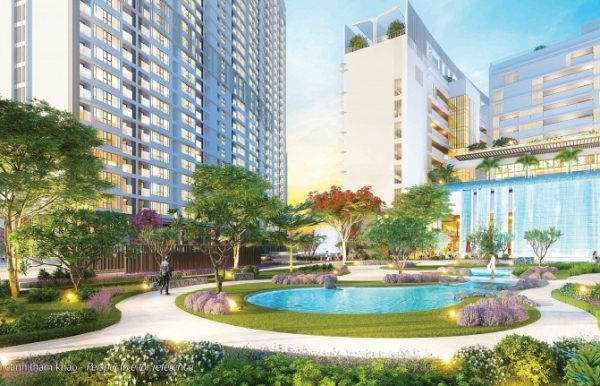 midtown the first multi national self contained complex of phu my hung