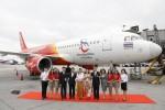Vietjet Thailand unveils new aircraft