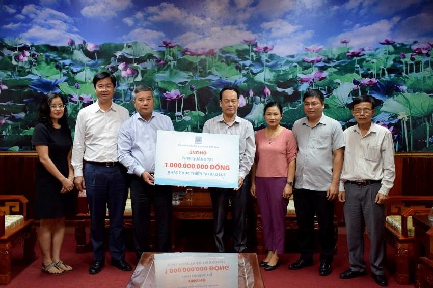 petrovietnam offers support to poor households impacted by floods and storms