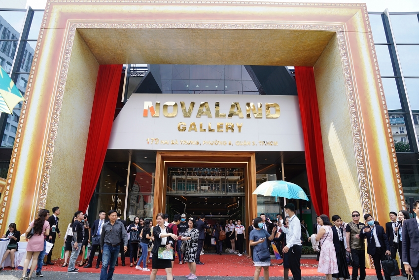 novaland opens the largest ever sales gallery in ho chi minh city