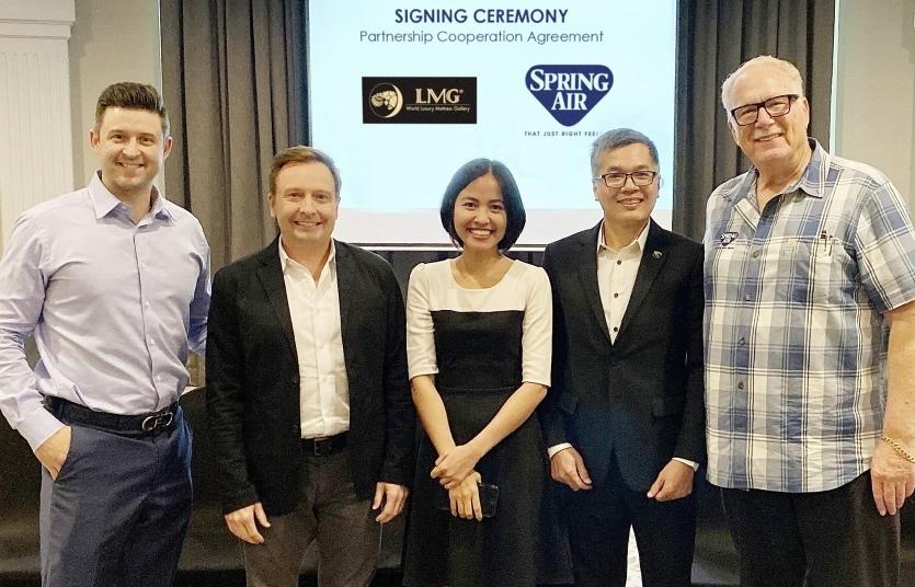 us mattress manufacturer spring air international enters vietnam