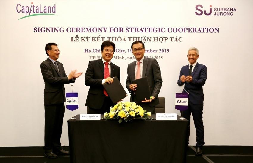 capitaland vietnam and surbana jurong partner for sustainable and smart city solutions
