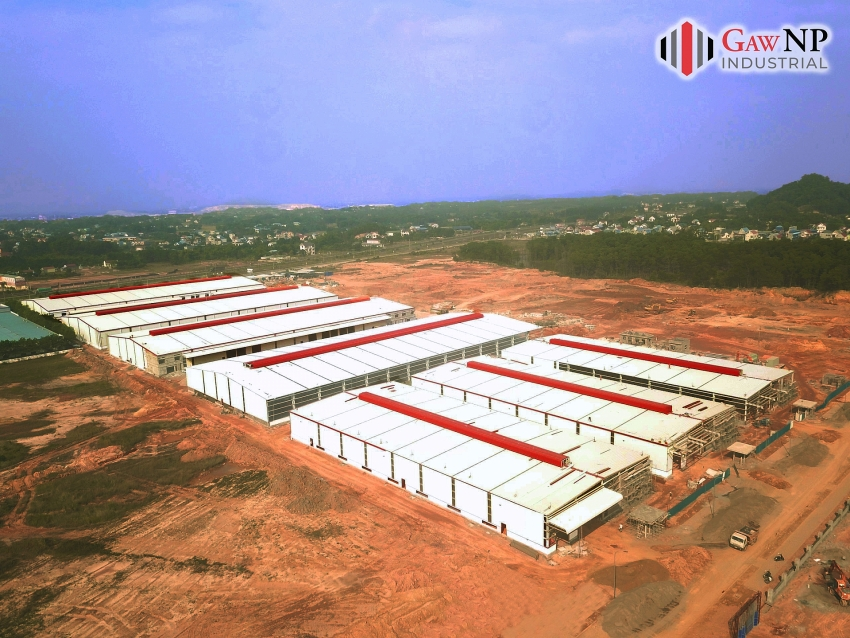 finishing phase 1 in january 2021 gaw np industrial gets ready to raise new investment