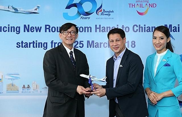 bangkok airways to launch first hanoi chiang mai direct flight