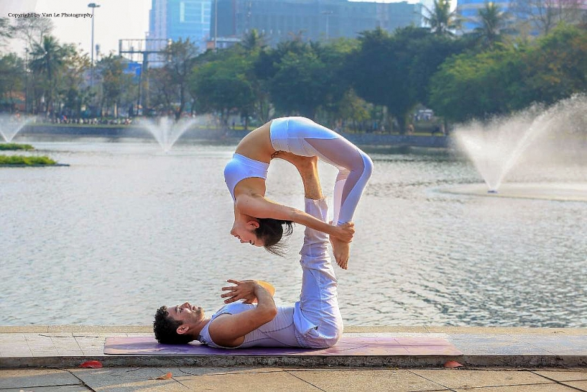 immerse yourself in the zen space of yoga
