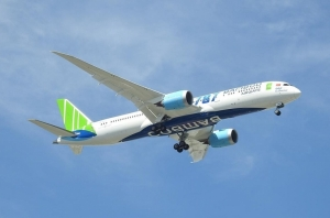 bamboo airways expands fleet with another boeing 787 9 dreamliner