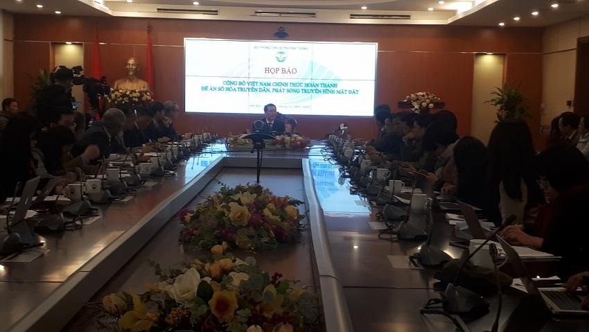 vietnam completes digitisation of terrestrial television broadcasting