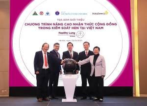 new campaign launched to improve awareness for asthma management in vietnam
