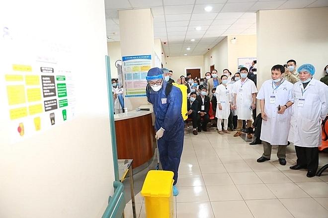 hue central hospital prepares to fight coronavirus epidemic