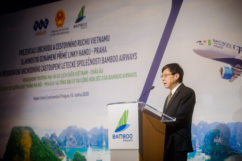 bamboo airways gets permission for direct flight to czech republic