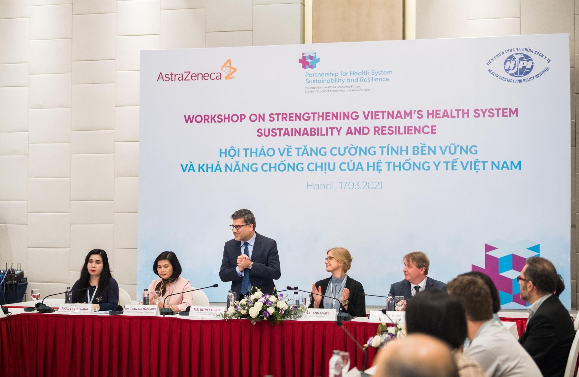 stakeholders seek to strengthen vietnams health system