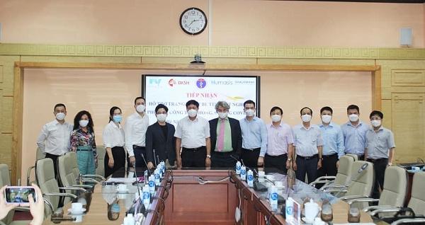 fv hospital dksh contribute to vietnams covid 19 fight