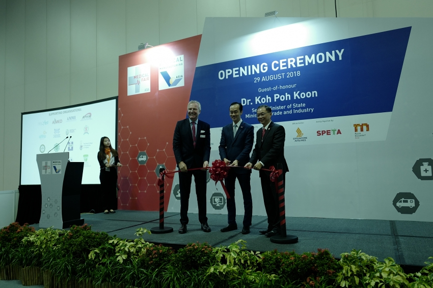 leading asian medical exhibitions open in singapore today