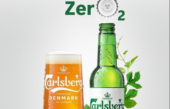 carlsberg launches new high tech zero2 cap for fresher beer