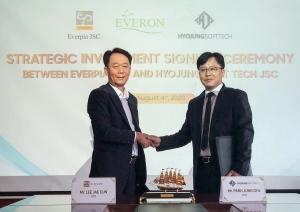 everpia jsc joins forces with hyojung soft tech jsc to enrol fintech