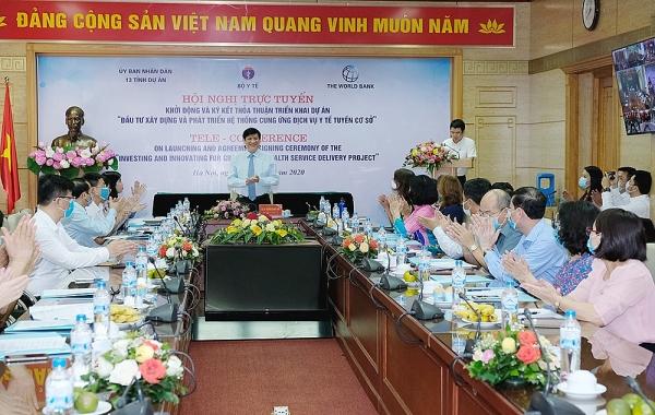 vietnam kicks off project to develop grass root health facilities