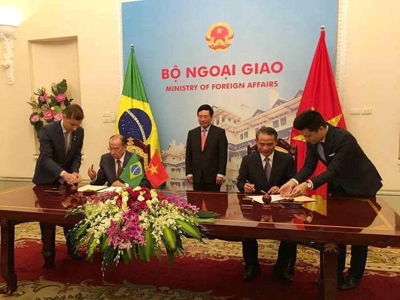 vietnam and brazil sign maritime transport agreement