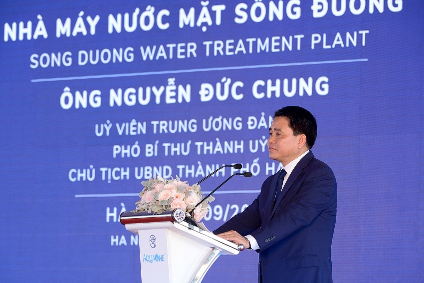 more thirsty areas in hanoi benefit from norths largest water plant