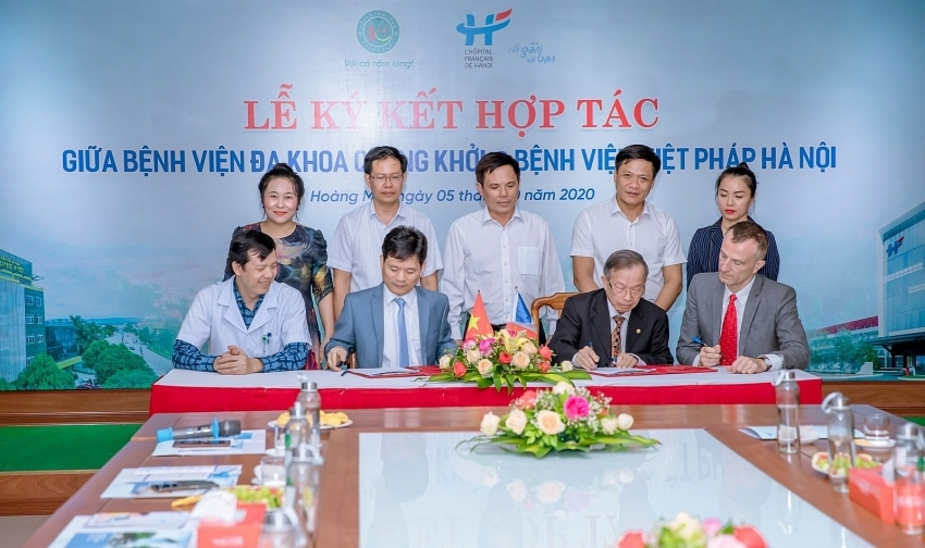 quang khoi and hanoi french hospital join to improve high quality healthcare coverage