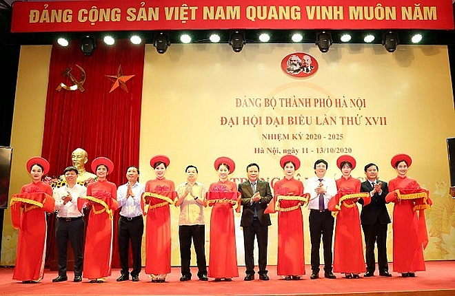 hanoi launches press centre to serve 17th party congress