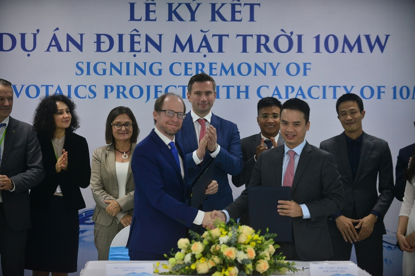 strong business links boost vietnam germany ties